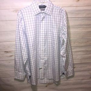 Black Brown 1826 Men's Classic Fit Shirt-16/35